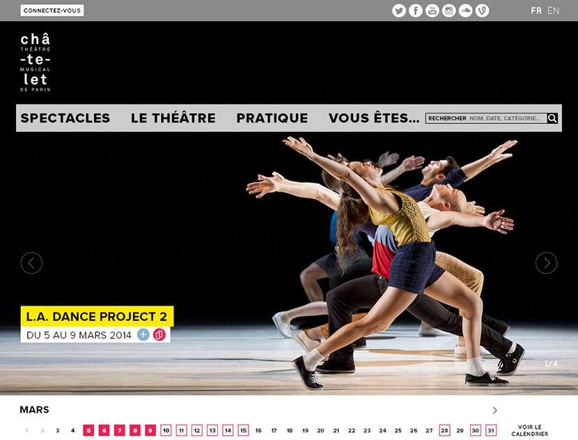 La homepage
